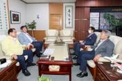 경북도의회 의장단, 통합신공항 문제 해결 촉구